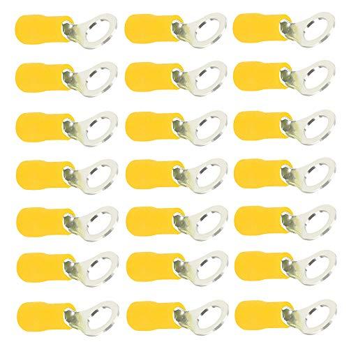 Mintice 100 X Amarillo Cobre Anillo a Tope Aislado...