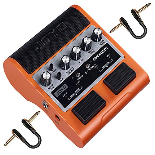 Read About JOYO JAM Buddy Guitar Amplifier Bluetooth Electric Guitar Practice Amp Dual Channel Porta...