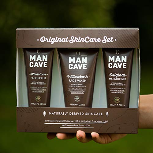ManCave Originals Gift Set - 3 Key SkinCare Essentials