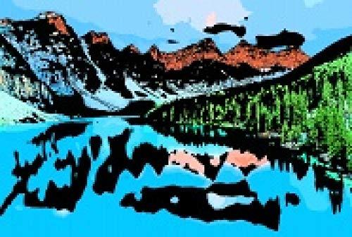Rompecabezas de Madera de montaña Aurora para Adultos, 1000 Piezas, Rompecabezas Creativo Educativo para niños, Juego de descompresión Intelectual
