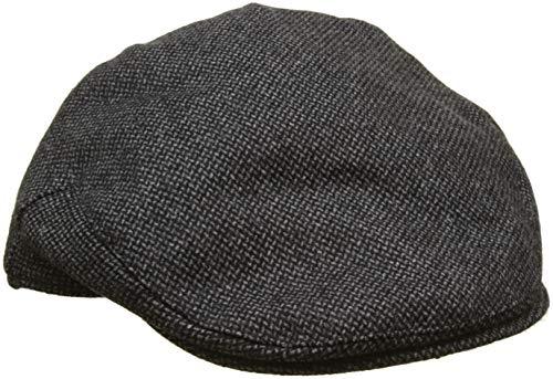 Hackett London Balmoral Tweed Her Gorra, Gris, L para Hombre