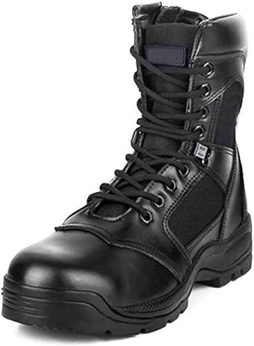 Cy Cy Bottes De Combat Bottes Tactiques avec Tête en Acier Anti-épine Chaussures De Formation pour Les Hommes Randonnée en Plein Air Bottes Militaires Bottes du Désert Bottes Camping  commandez maintenant profitez de gros rabais