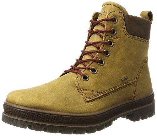 Legero Herren Combat Boots Schneestiefel MONTANA, Braun (Honey KOMBI), Gr. 44 (UK 10)