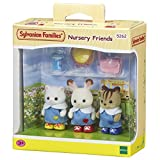 Sylvanian- Nursery Friends Families Les Amies De Creche, 5262, Multicolore