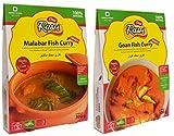 Desi Rasoi Combo - Malabar pescado al curry + Goa pescado al curry (Pack de 2) Cada 300g