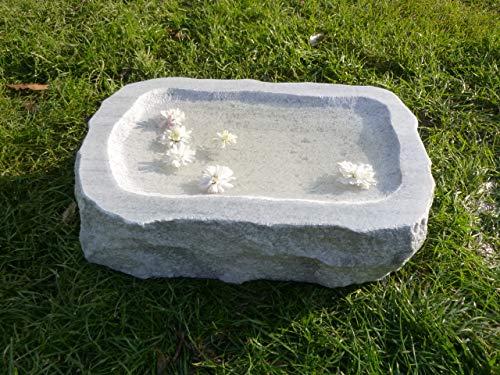 Vogeltränke aus Marmor Nr. 2   Vogelbad aus Naturstein   Unikat   Handarbeit !