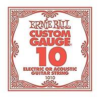 ERNIE BALL 1010 ギター用バラ弦×6本
