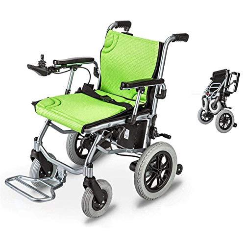 WLMGWRXB elektrische reissysteem-babywagen, inklapbaar in 1 seconde, de compactere elektrische rolstoel, lichte geleiderail tot 12 km afstand voor gehandicapten.