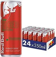 Red Bull Energy Drink, Wassermelone, Red Edition, 24 x 250 ml, Dosen Getränke 24er Palette, OHNE PFAND