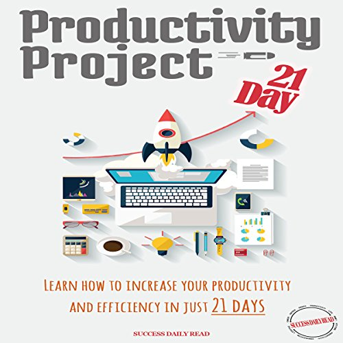Productivity Project 21 Day     Learn How to Increase Your Productivity and Efficiency in Just 21 Days              By:                                                                                                                                 Success Daily Read                               Narrated by:                                                                                                                                 Dean Eby                      Length: 1 hr and 10 mins     2 ratings     Overall 3.0