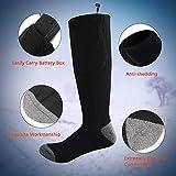 Zoom IMG-2 calze riscaldate elettrica per uomo