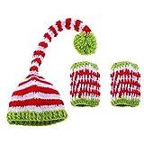 YeahiBaby Recién Nacido Foto del bebé Traje Sombreros Navidad...