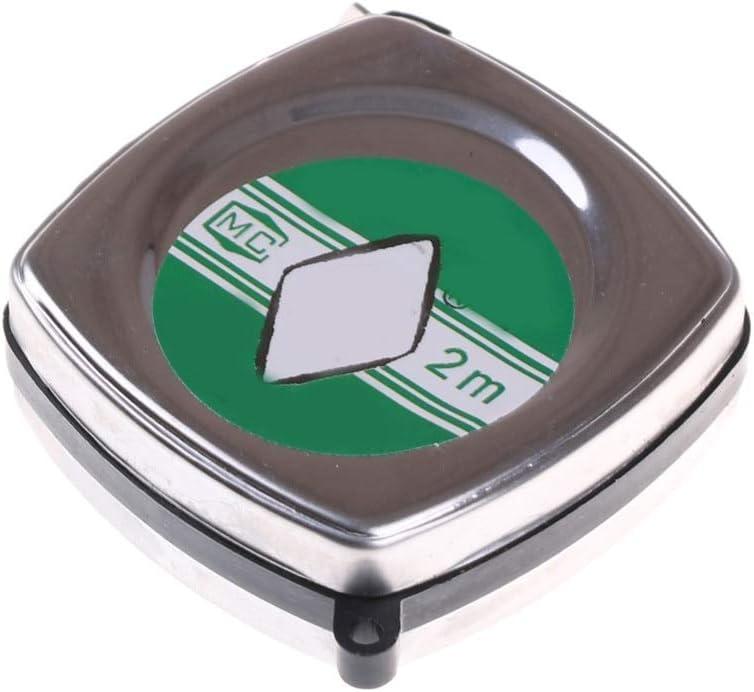 DORATA Wholesale - Mesa Mall 2M Retractable Ruler Tape Mini Pull Rule Portable Metal