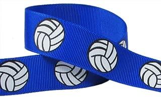 Volleyball Ribbon for Crafts - Q-YO 3/8