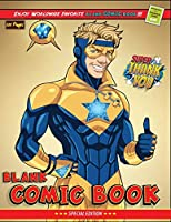 "Blank Comic Book: Create Your Own Comics With This Comic Book Journal Notebook: 120 Pages Large Big 8.5"" x 11"" - Lots of Templates - Best Gift Idea for Kids - Superhero 3"