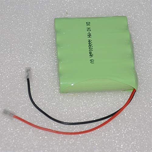 Xiaoyuw 6V AAA paquete de pilas recargables de NiMH 600mAh 3A baterías de NiMH NI MH celular for RC Juguetes de Emergencia Inalámbrico Luz Teléfono (tamaño : 3PCS)