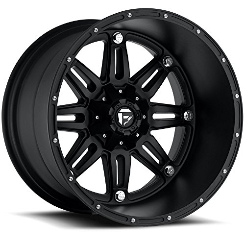 Fuel Hostage black Wheel with Painted Finish (17 x 9. inches /6 x 135 mm, -12 mm Offset)