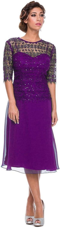 SecretCastle Women's Mother of Bride Casual Dress SCT450