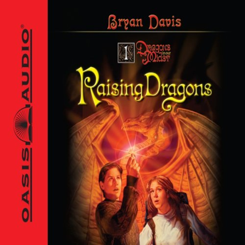 Raising Dragons audiobook cover art