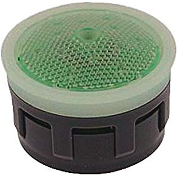 Acetal Regular Adjustable Bottom 1.5 GPM Honeycomb Screen Green//Clear Dome Aerated Neoperl 30 1350 3 PCA Perlator HC SSR Economy Flow Aerator Insert Pack of 6 No Washer