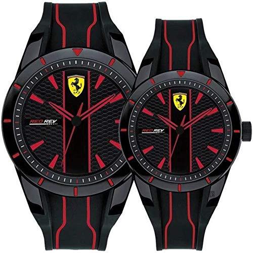 orologio solo tempo uomo Scuderia Ferrari Redrev sportivo cod. FER0870021