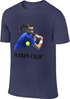 Prookem Customized Classic Tops Marin Cilic T-Shirts for Men's