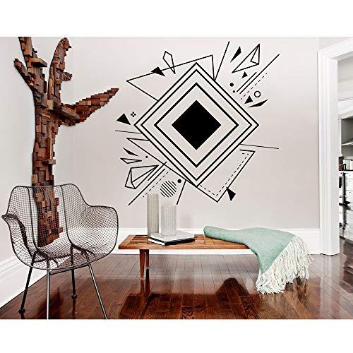 yaonuli Vinyl kunstenaar wooncultuur geometrische muurkunst abstracte muursticker modern kantoor kamer sticker schoonheid decoratie