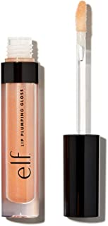 Elf Cosmetics Lip Plumping Gloss, Champagne Glam, 9 Ounce
