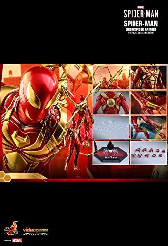 Hot Toys 1:6 Spider-Man - Armadura de araña de Hierro - Marvel Comics Amazing Spider-Man Multicolor HT904935