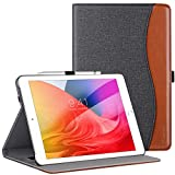 ZtotopCase for New iPad 8th Genaration/iPad 7th Generation 10.2 Inch 2020/2019, Premium PU Leather Folding Stand Cover for iPad 10.2 '' 2020 8th Gen/ iPad 10.2'' 2019 7th Gen, Denimblack