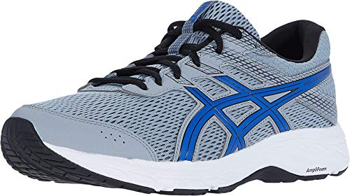 ASICS Herren Gel-Contend 6 Laufschuhe, (Sheet Rock/Asics Blue), 44 EU