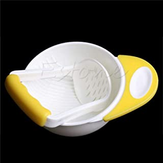YAS Baby Kids Food Dishes Grinding Bowl Baby Children Handmade Grinding Supplement Infant Food Mill Bowl As The Picture-4