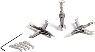 Carbon Express F-15 Expandable Dual Blade Broadhead, 100 Grain Weight, 3-Pack