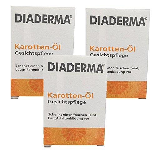 Diaderma Karottenöl Gesichtpflege 3er Pack (3x30ml)