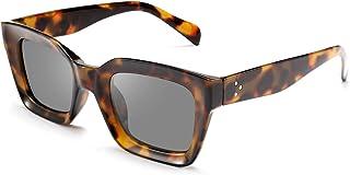 FEISEDY Classic Women Sunglasses Oprah Style Thick Square Frame UV400 B2471