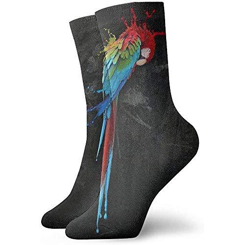 Gre Rry Papagei schlafen Erwachsene Kurze Socken gemütliche Socken für Mens Womens