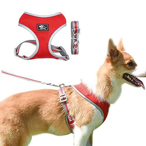 BLEVET Puppy Dog Vest Harness So...