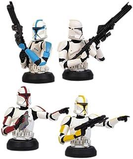 Star Wars BustUps Episode II Attack of the Clones Clone Trooper Set of 4