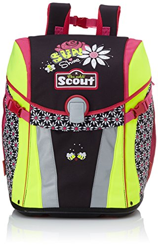 Scout 73510714700 Sunny Schulranzen-Set, Schwarz/Pink