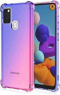 Ryphez for Samsung Galaxy A21S Case, Galaxy A21S Phone Case, Case for Galaxy A21S, Ultra Thin/Slim Anti-Drop Flexible Clea...