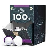 My Coffee Cup – MEGA BOX LUNGO BELLISSIMO – BIO-KAFFEE I 100 Kaffeekapseln für...