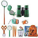 Outdoor Adventure Set for Kids, Exploration Kit Nature Educational Set Pack of 12, Binoculars, Flashlight,...