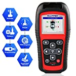 Autel MaxiTPMS TS501 TPMS Relearn Tool Automotive Scan Tool with Activate TPMS Sensors/TPMS Sensor Programming/Program… 10 【Upgraded Version of TS408, 2021 Newest】TS501 TPMS Tool can diagnose newest models up to 2020 with frequent updates. It packed ALL TPMS service options: TPMS programming(MX-Sensors), sensors Relearn/Activation, TPMS Reset and TPMS health diagnose, read sensor data, key fob frequency test. Please send VIN to : ❤Autelonline @outlook.com❤ CHECK COMPATIBILITY. 【TPMS Programming】 TS501 TPMS Programming Tool enables all car enthusiasts to program sensor data to Autel MX-Sensors with ease, saving you the money and trip to a dealership. With TS501, you can program AUTEL MX-Sensor (315/433MHz) with 4 programming options: Copy By Activation, Copy By Manual Input, Auto Create and Copy by OBD( Not available with TS408) to replace the faulty sensor with low battery life or one that is not functioning well. 【Relearn All TPMS Sensors】TS501 has added Relearn by OBD comparing with TS408. To turn off the TPMS warning light after replacement, you need to relearn the sensors to the vehicle! Autel TS501 TPMS Relearn Tool provides 3 ways of on-tool relearn precedures to relearn both OE and aftermarket sensors: Stationary Relearn, Automatic Relearn & OBD Relearn.