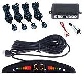 Kit 4 Sensori Di Parcheggio Per Auto Con Display Suono Led Acustico Verniciabili Spedite n...