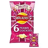 Cocktail di gamberi patatine Walkers (6x25g)