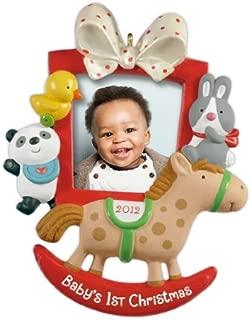 Hallmark Keepsake Ornament Babys First Christmas Photo Frame 2012