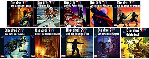 Die Drei ??? (Fragezeichen) - Folge/CD 141-150 im Set - Deutsche Originalware [12 CDs]