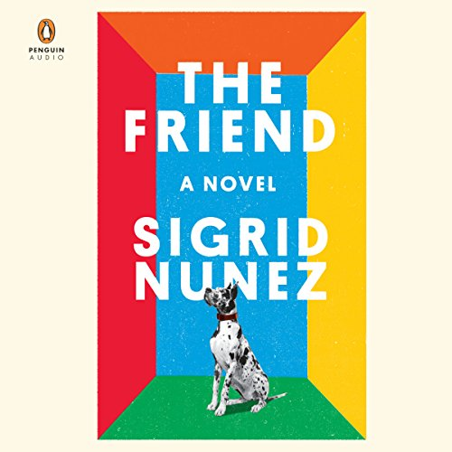 The Friend audiobook cover art