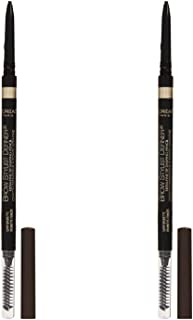 L'OrÃal Paris Makeup Brow Stylist Definer Waterproof Eyebrow Pencil, Ultra-Fine Mechanical Pencil, Draws Tiny Brow Hairs & Fills in Sparse Areas & Gaps, Dark Brunette, 0.11 Ounce (Pack of 2)