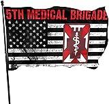 Jeewly 45. Infanterie Brigade Combat Team Yard Flags 3 X 5 in Innen- und Außenbereich Dekorative Home Fall Flags Holiday Decor